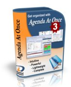 Agenda At Once Personal Information Manager