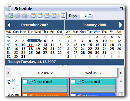 Free PIM Software Agenda At Once Organizer and ToDo List Freeware – Agenda Download Free
